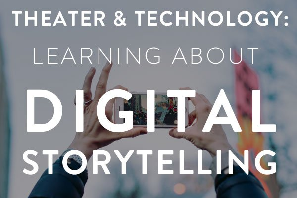 learning about digital storytelling
