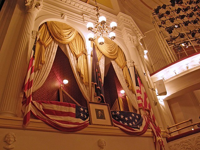 ford theater presidential box
