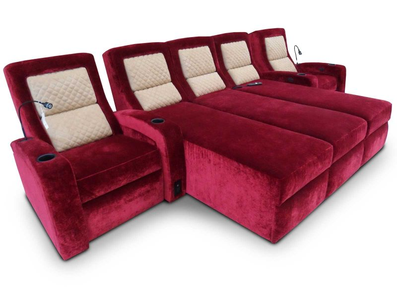 Lexington Home Theater Chaise Lounger