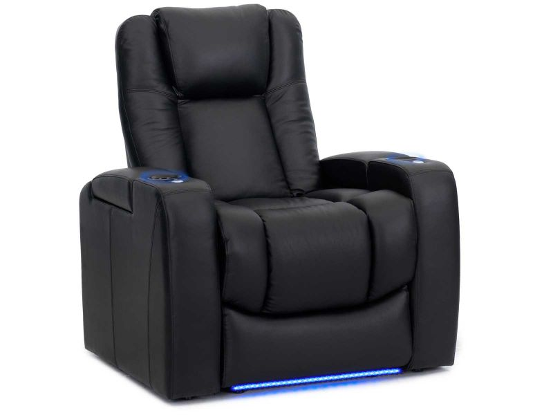 Home Theater Seat with Arm Storage