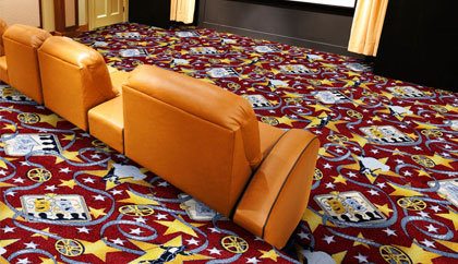 Home Movie Theater Carpets