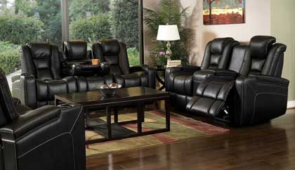 Media Room Furniture | Theater Sectional | Theater Sofa Seating